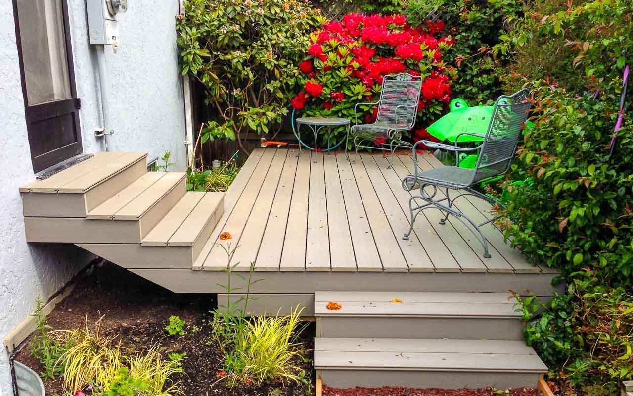 Landscaping Deck 4
