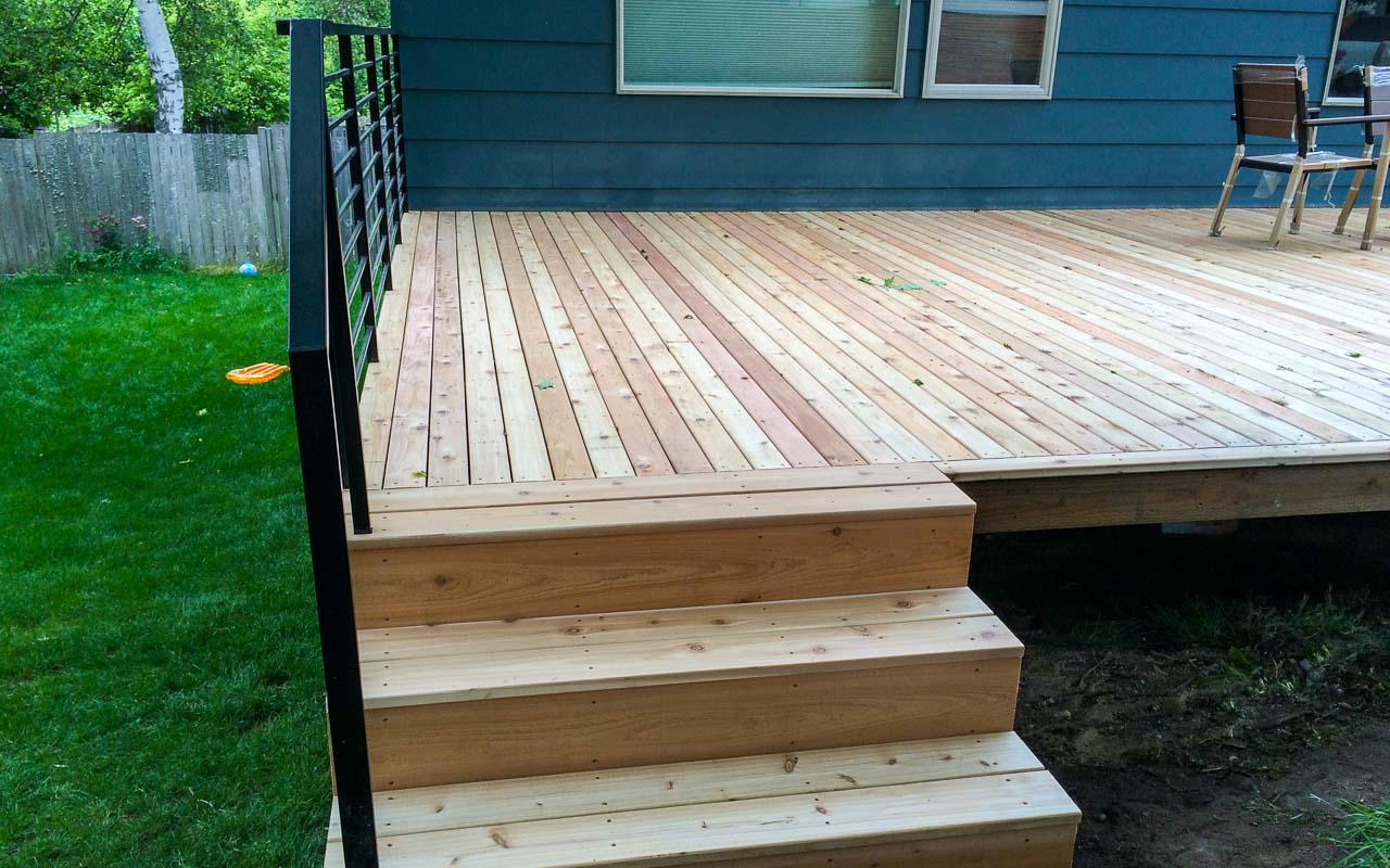 Landscaping Deck 7
